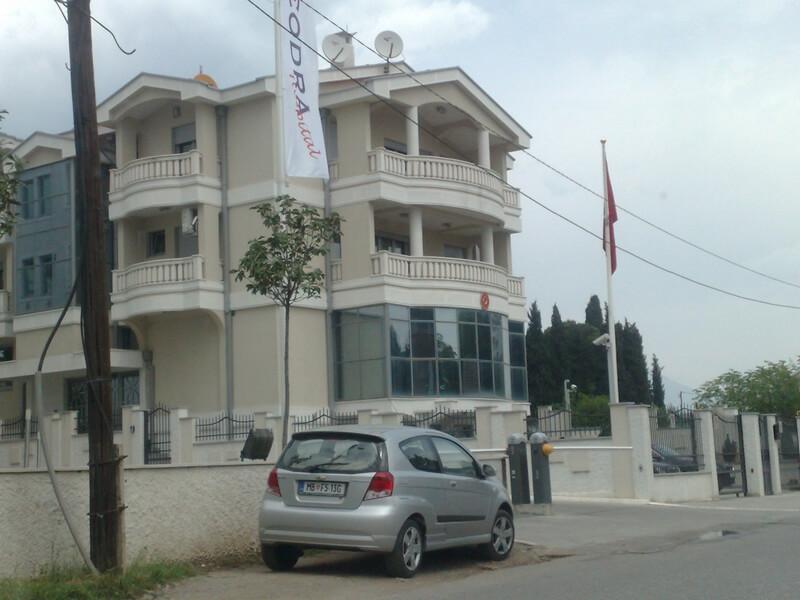 Sjedište Turske ambasade - Podgorica