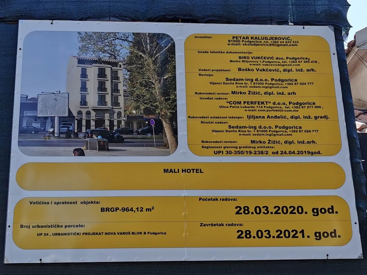 Hotel u Centru - Podgorica